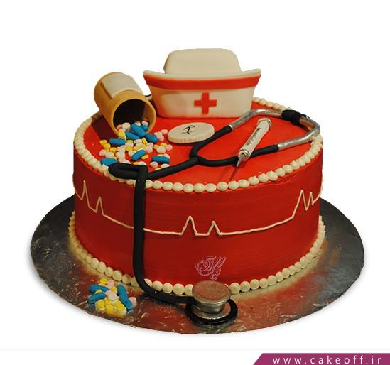 کیک پزشک مهربان