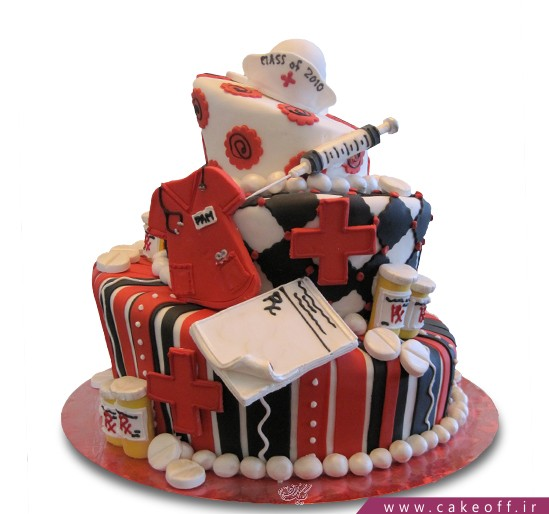 کیک روز پزشک - کیک مرهم مهربان | کیک آف