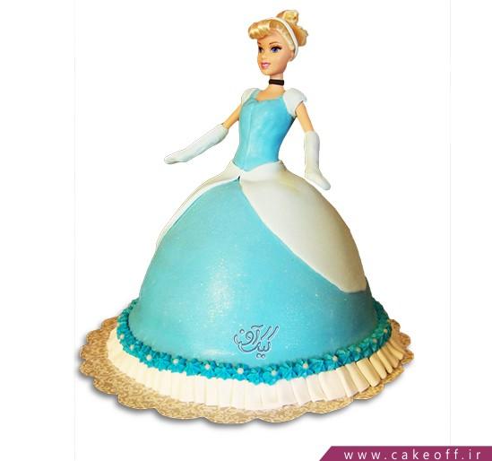 کیک تولد دخترانه - کیک سیندرلای موطلا | کیک آف