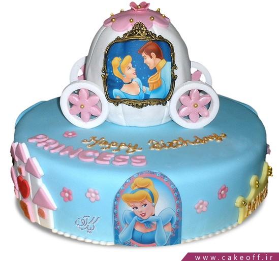 کیک سیندرلا و پسر پادشاه