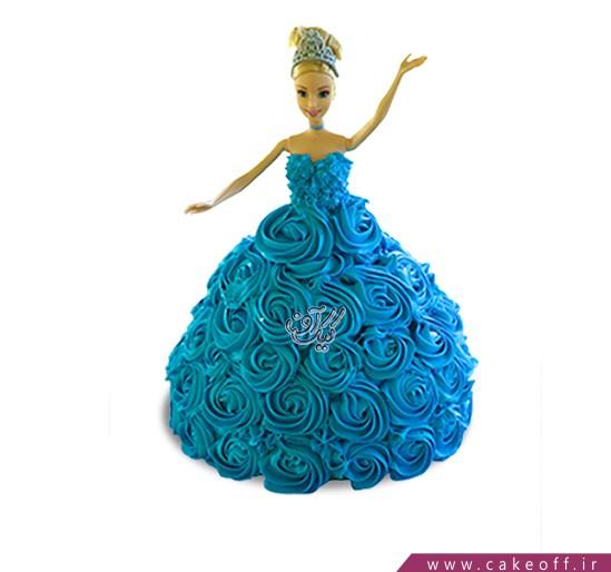 کیک باربی رقصنده