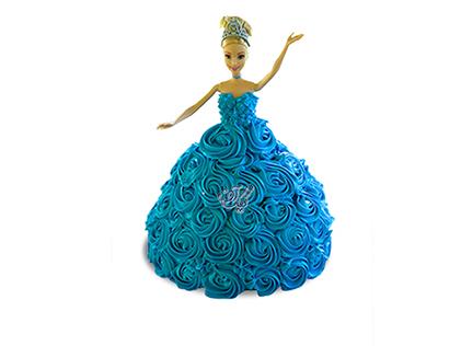 کیک تولد دخترانه - کیک باربی رقصنده | کیک آف