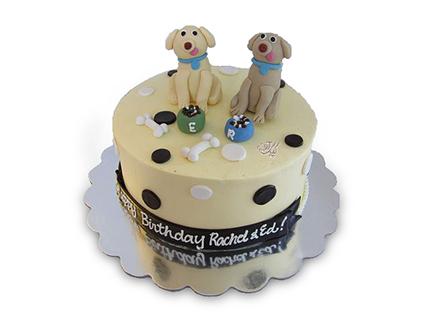 کیک تولد بچه گانه سگ های شکمو | کیک آف