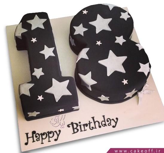 کیک عدد هجده آل استار