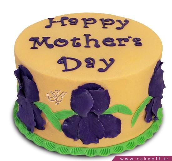 سفارش کیک اینترنتی - کیک روز مادر زنبق | کیک آف
