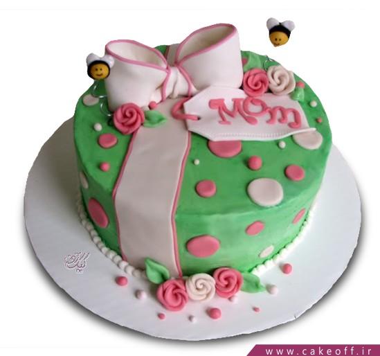 کیک روز مادر شهد گل