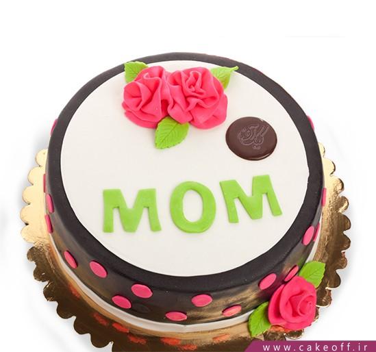 کیک روز مادر روز نوبهار | کیک آف