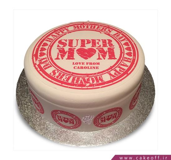 سفارش کیک روز مادر - کیک بهترین مامان | کیک آف