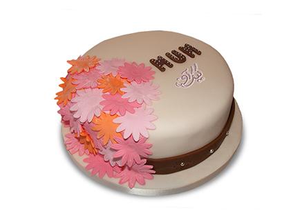 سفارش کیک روز زن - کیک گل زینتی | کیک آف