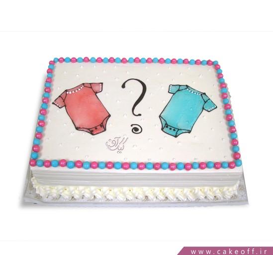 کیک تعیین جنسیت نوزاد مرسانا | کیک آف