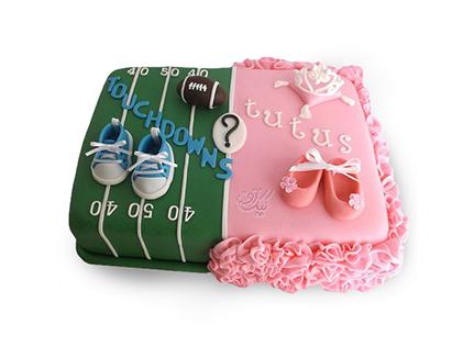 کیک تعیین جنسیت نوزاد به آفرین | کیک آف