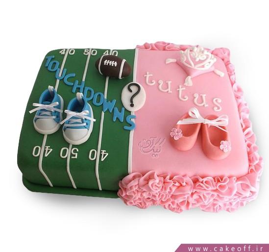 کیک تعیین جنسیت نوزاد به آفرین