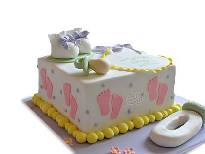 کیک تعیین جنسیت نوزاد انتظار شیرین | کیک آف