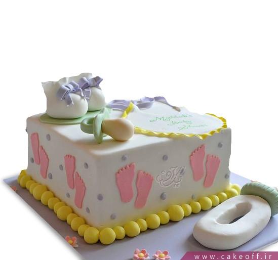 کیک تعیین جنسیت نوزاد انتظار شیرین