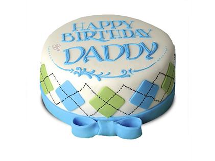 کیک تولد مردانه برسام | کیک آف