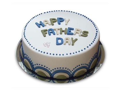 کیک روز پدر سامیار - خرید اینترنتی کیک | کیک آف