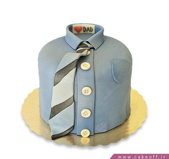 کیک مردانه پیراهن بابا