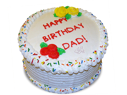خرید اینترنتی کیک - کیک روز بابام | کیک آف
