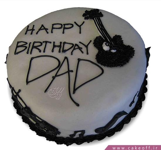 سفارش کیک خاص - کیک بابای هنرمندم | کیک آف