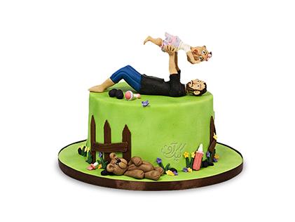 کیک روز پدر - کیک قصه های من و بابام | کیک آف
