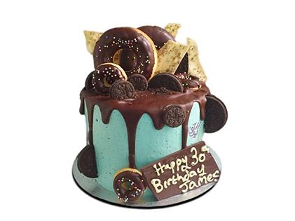 سفارش کیک اینترنتی - کیک تولد قصر فیروزه | کیک آف