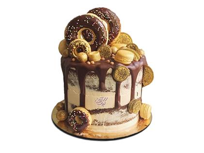 سفارش کیک اینترنتی در اصفهان - کیک وانیک 2 | کیک آف