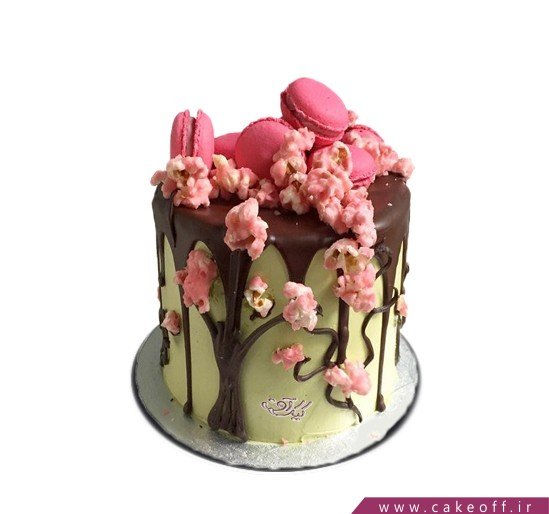 کیک تولد بهار