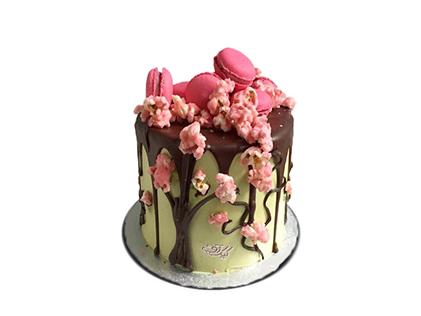 سفارش اینترنتی کیک  - کیک تولد بهار | کیک آف