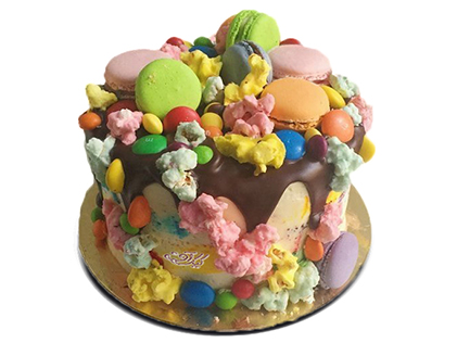 جدیدترین کیک تولد - کیک تولد رنگی رنگی | کیک آف