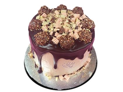 کیک تولد ساده - کیک خان عمو 3 | کیک آف