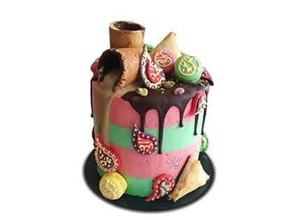 انواع کیک تولد - کیک گل بته | کیک آف
