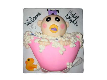 کیک جشن سیسمونی مای بی بی | کیک آف