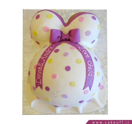 کیک بارداری مامان حامله