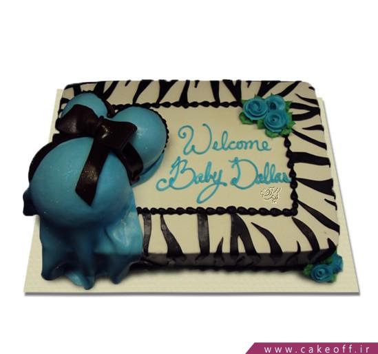 کیک بارداری مامان فیروزه