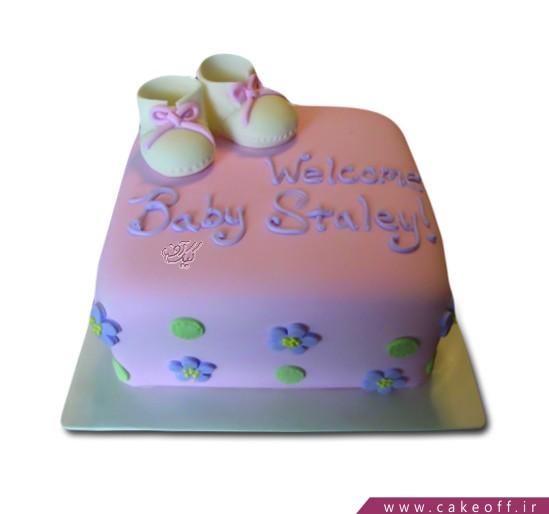 کیک جشن سیسمونی نوپای من