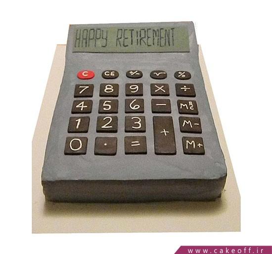 کیک حسابدار روزت مبارک