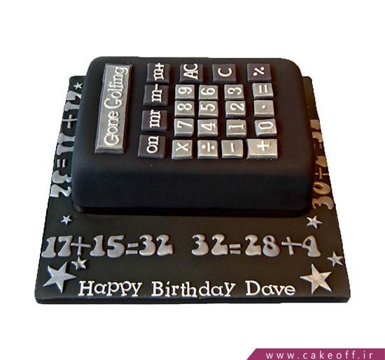 کیک ماشین حساب - کیک حسابدار ماشینی | کیک آف
