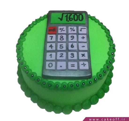 کیک حسابدار سبز و خرم