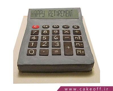 کیک حسابدار روزت مبارک |  کیک آف