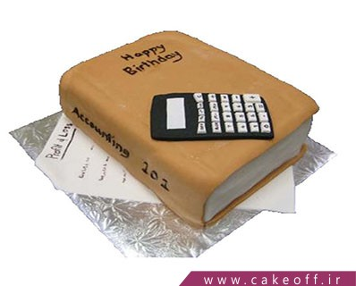 یک روز حسابدار - کیک حسابدار زیرک | کیک آف
