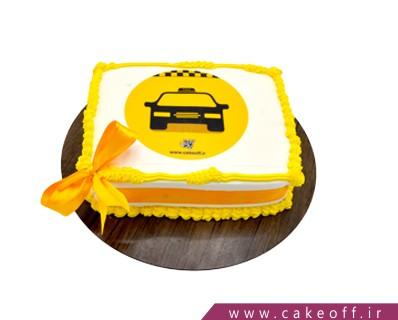 کیک تصویری تاکسیرانی | کیک آف