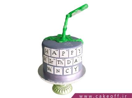 کیک ضد جاذبه - کیک مندلیف | کیک آف