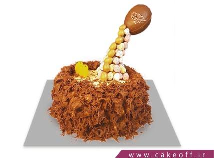 کیک ضد جاذبه - کیک سنگریز | کیک آف