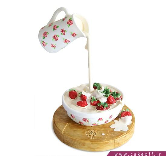 کیک خاص - کیک آبشار شیر   کیک آف