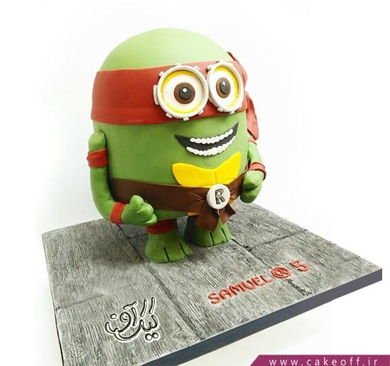 کیک تولد - کیک مینیون نینجا | کیک آف