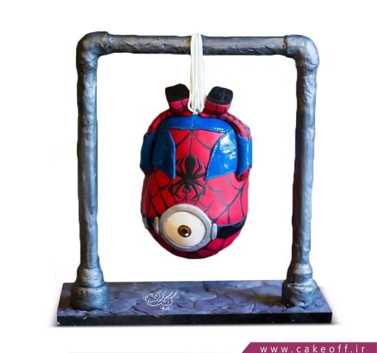 کیک مینیون مرد عنکبوتی