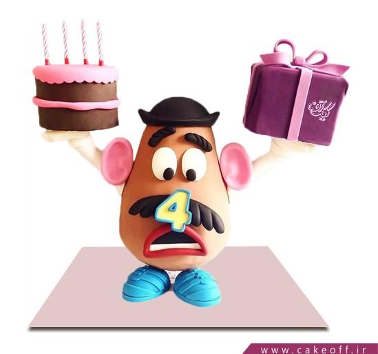 کیک تولد بچگانه - کیک داستان اسباب بازی ها ۱۲ | کیک آف