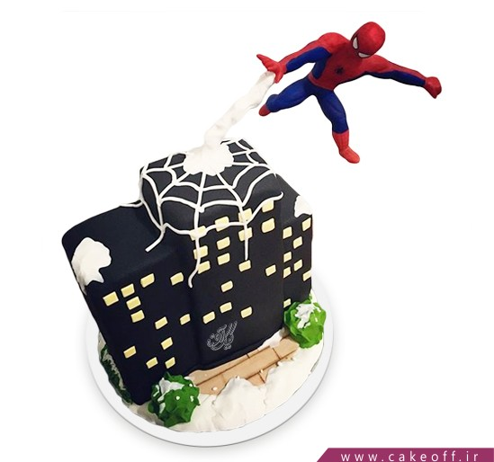 کیک خاص - کیک ضد جاذبه مرد عنکبوتی 7 | کیک آف