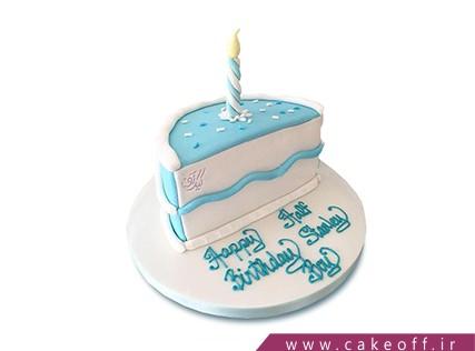 کیک تولد نوزاد پسر
