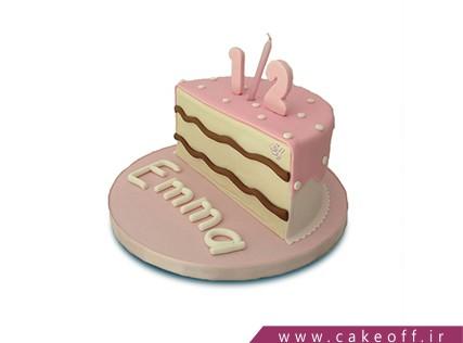 کیک نیم سالگی نوزاد- کیک تولد نوزاد - کیک شش ماهه شدن کوچولو | کیک آف